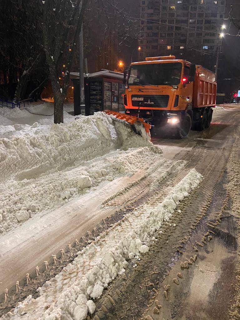 Снегопады в Украине. Укравтодор