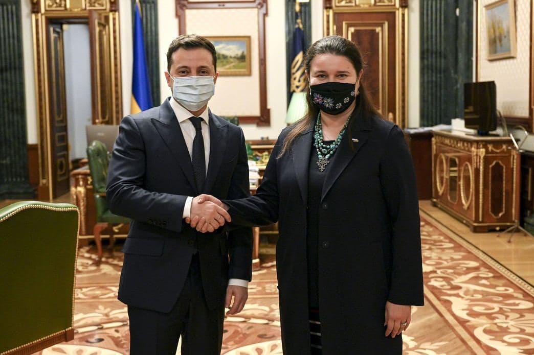 Зеленский и Маркарова. Фото: Офис президента