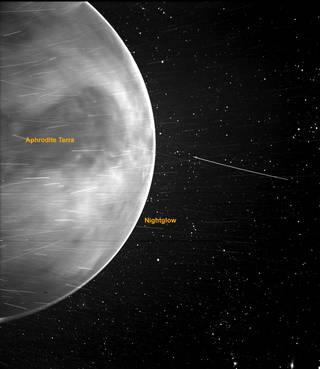 Снимок с зонда. Фото: NASA