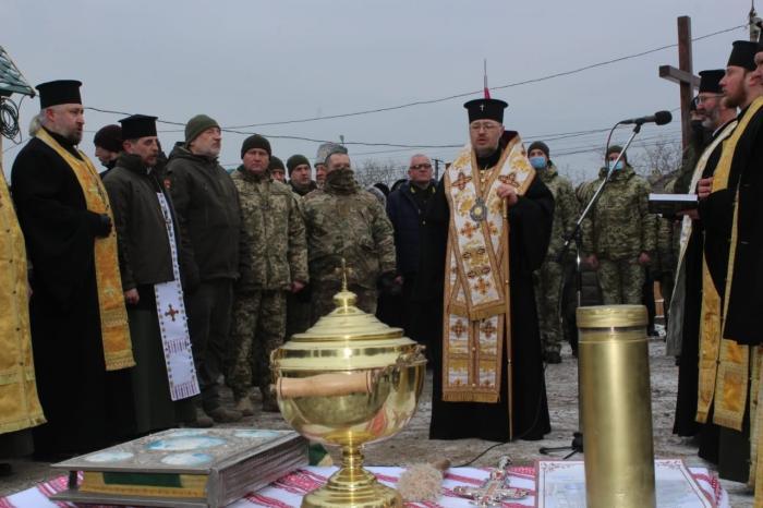 У Маріуполі буде побудовано храм на честь воїнів російсько-української війни, фото: прес-служба штабу ООС