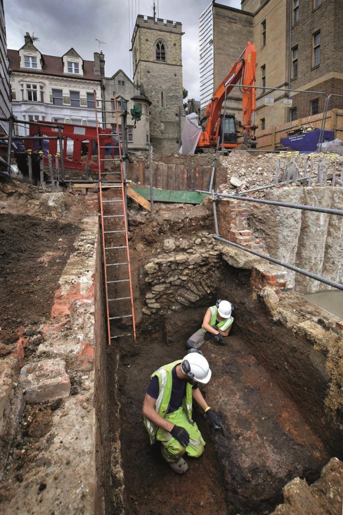 Під час розкопок, фото: Брістольський університет