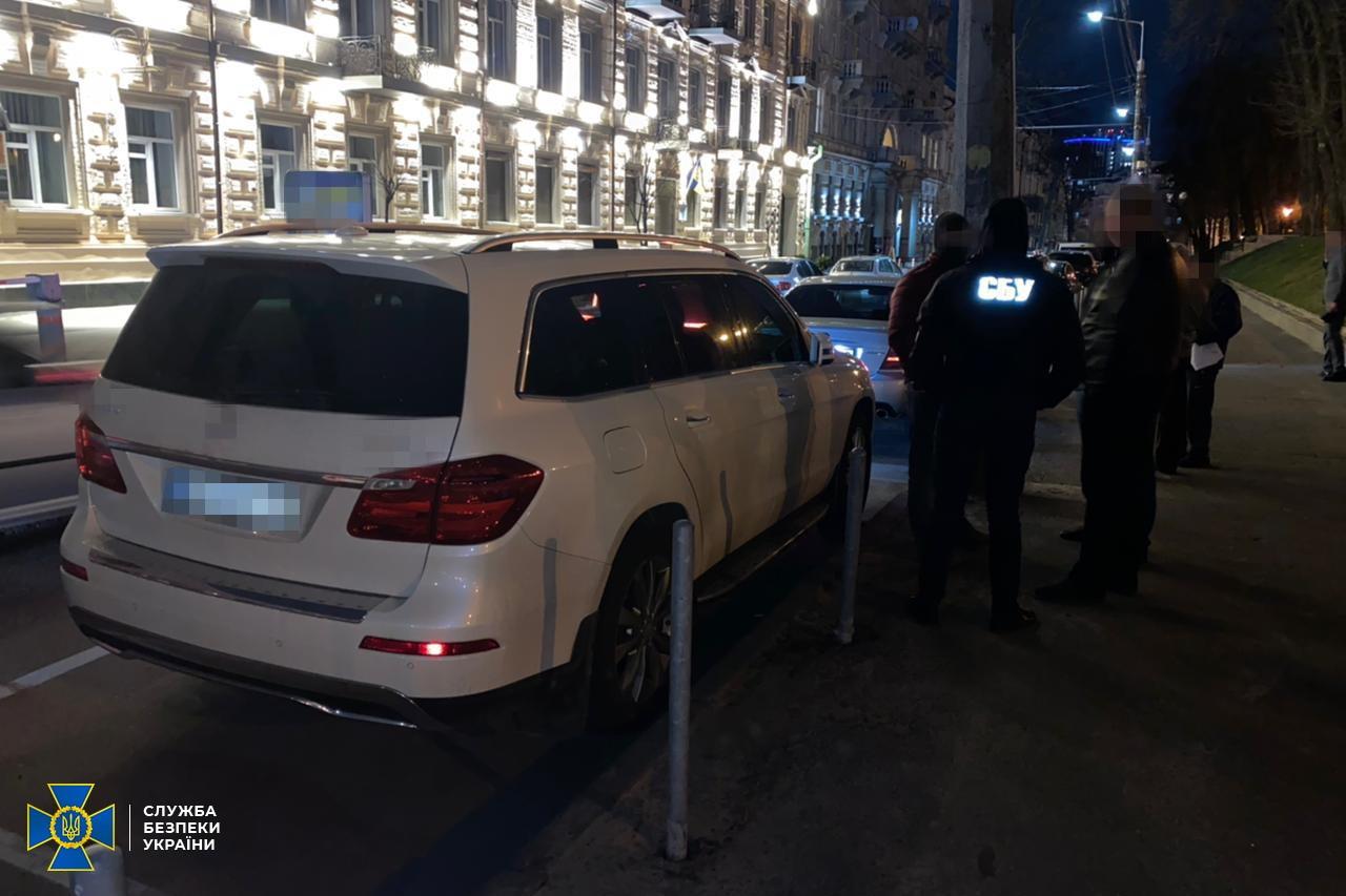 На 40-тысячной взятке поймали депутата в Борисполе. Фото: пресс-служба СБУ