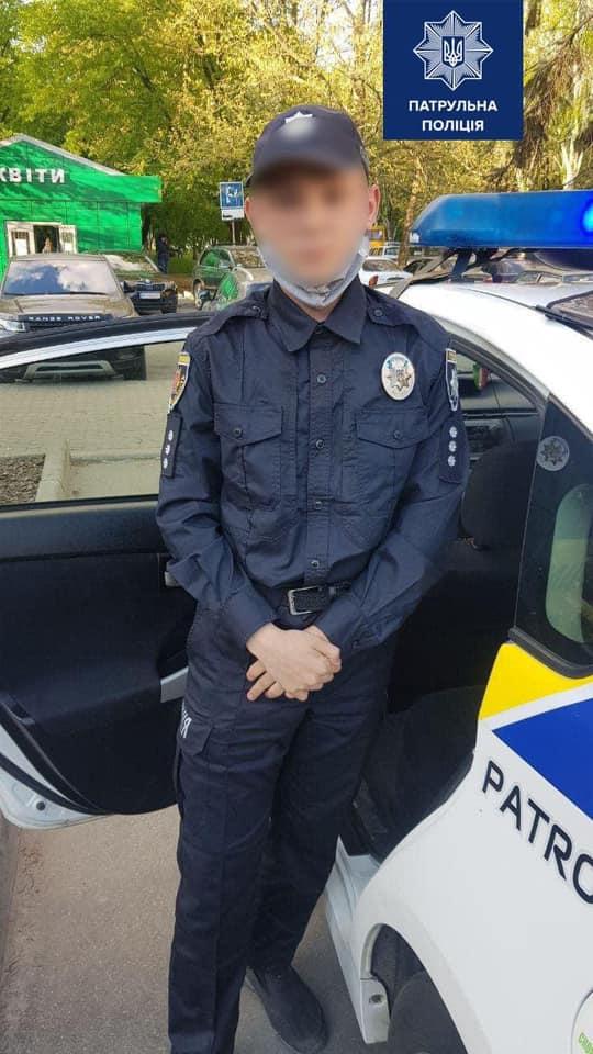 Подросток в форме полицейского. Фото: пресс-служба МВД