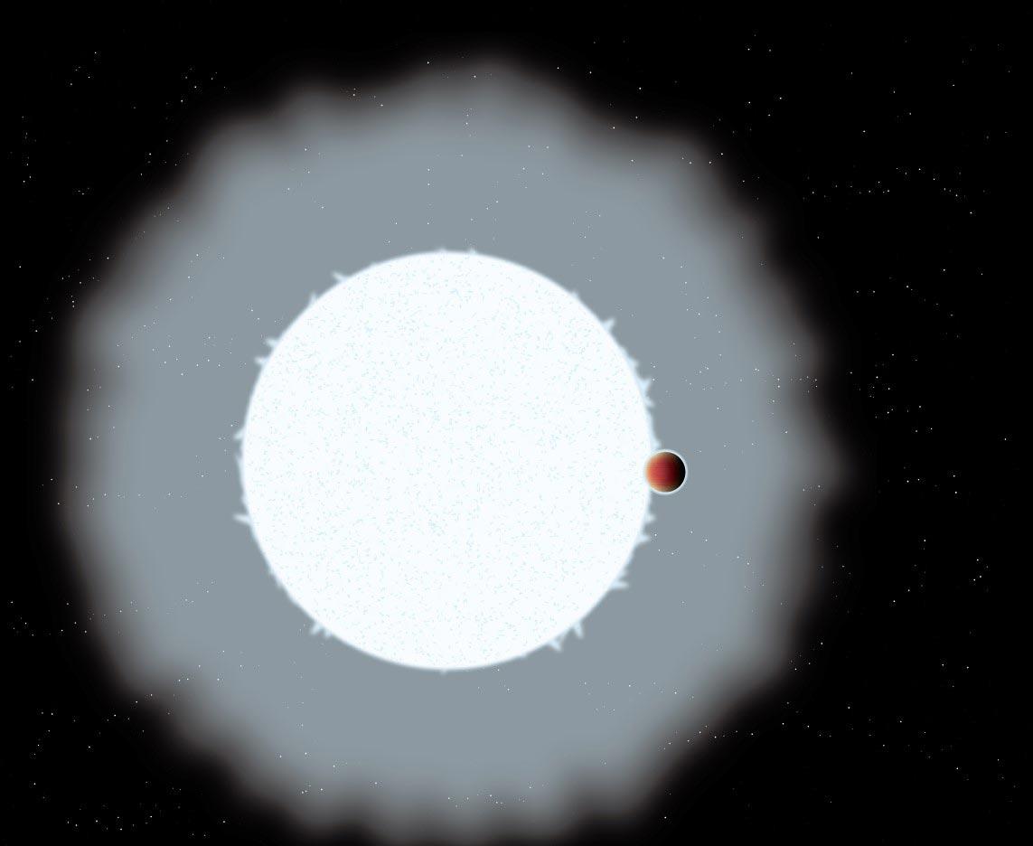 Экзопланета. Фото: ScitechDaily