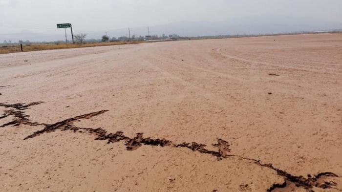 Тріщини в землі у Мексиці, фото: Carlos Juan Semidey