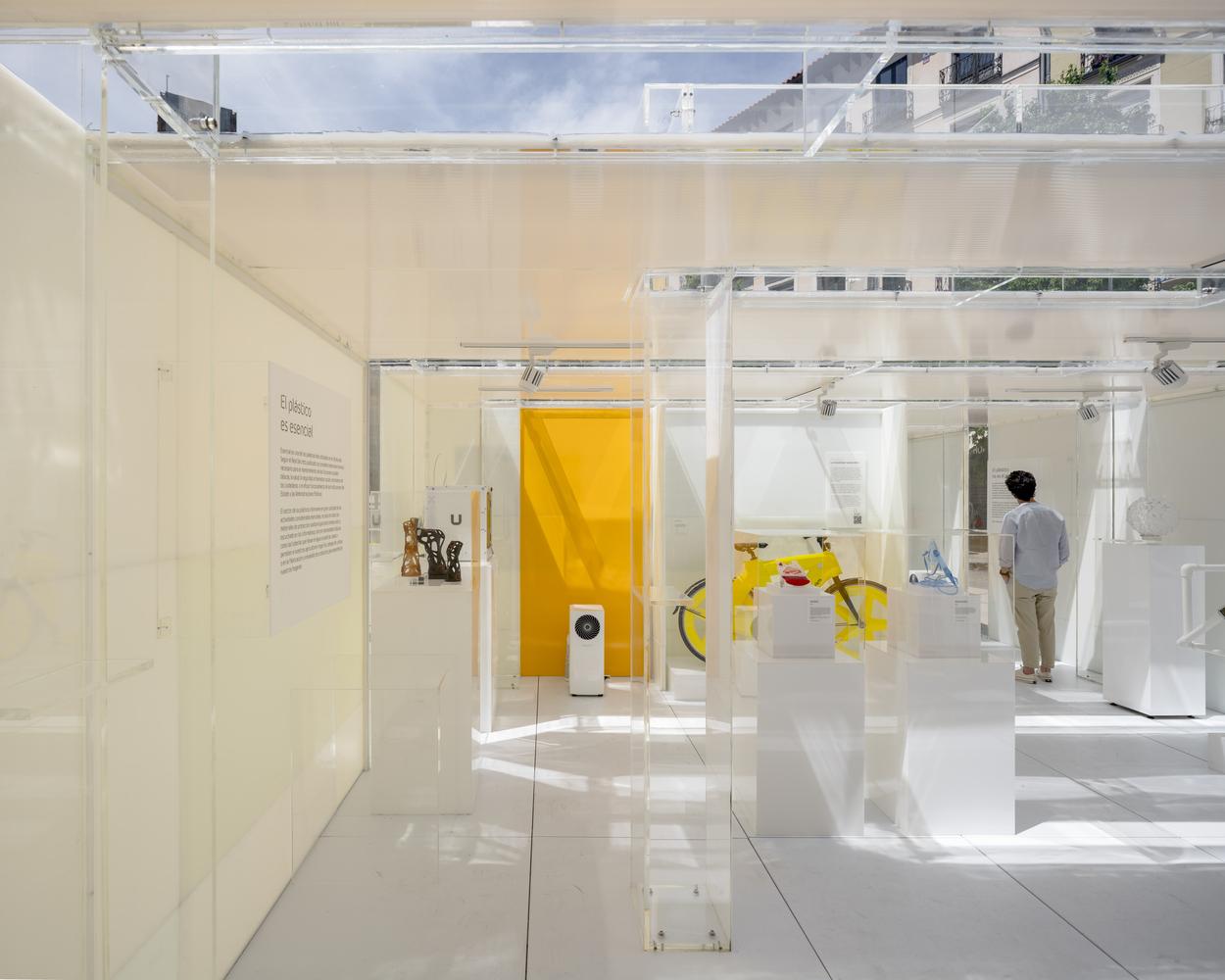 Музей пластика в Мадриде. Фото: ArchDaily