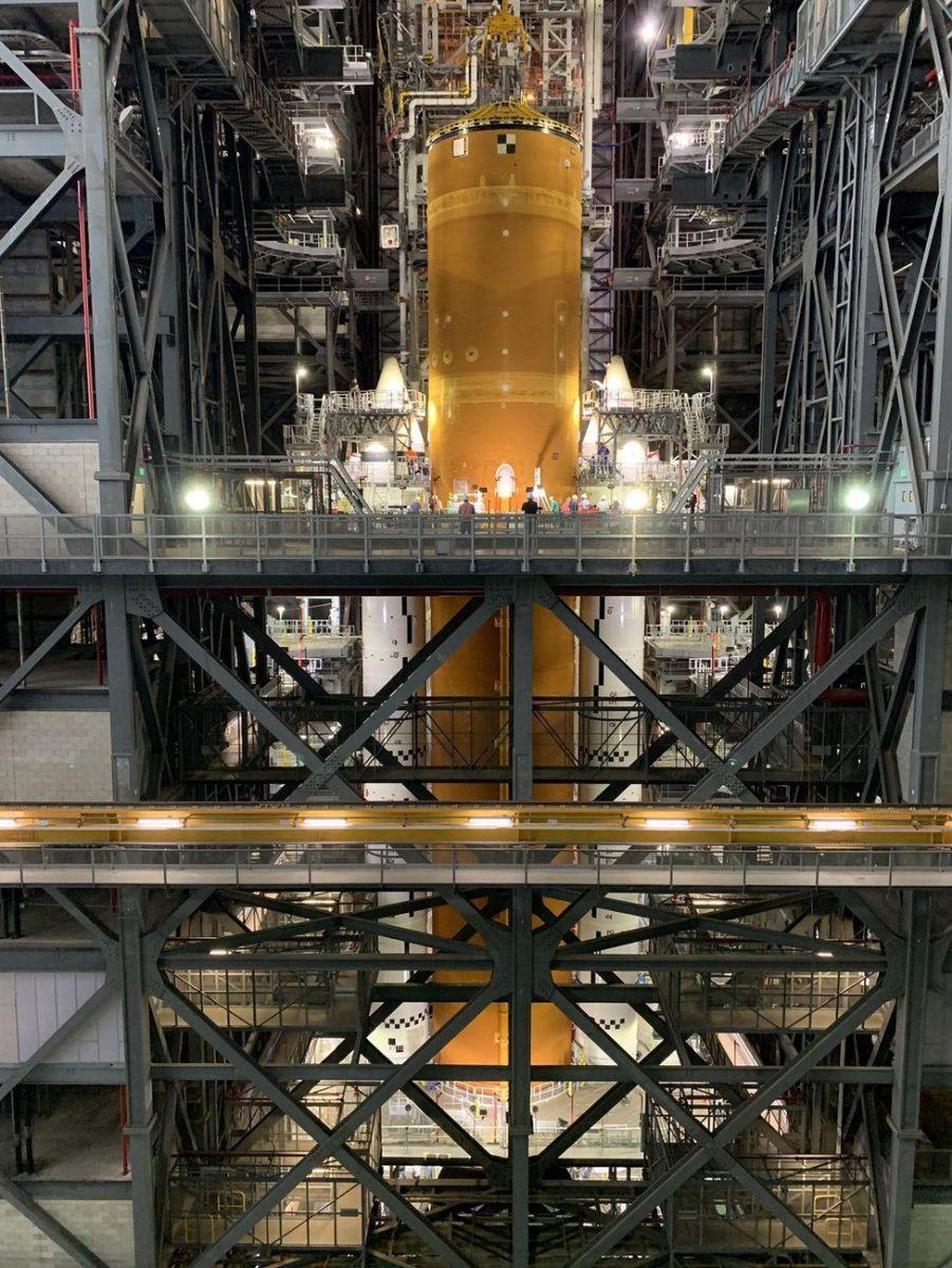 Ракета. Фото: NASA