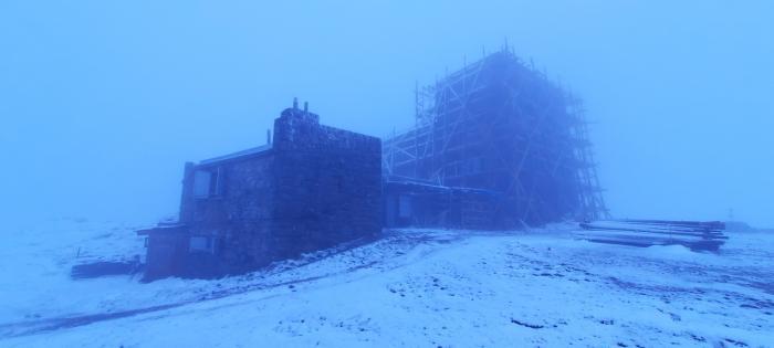 В Карпатах снова выпал снег, фото: Черногорский горный поисково-спасательный пост