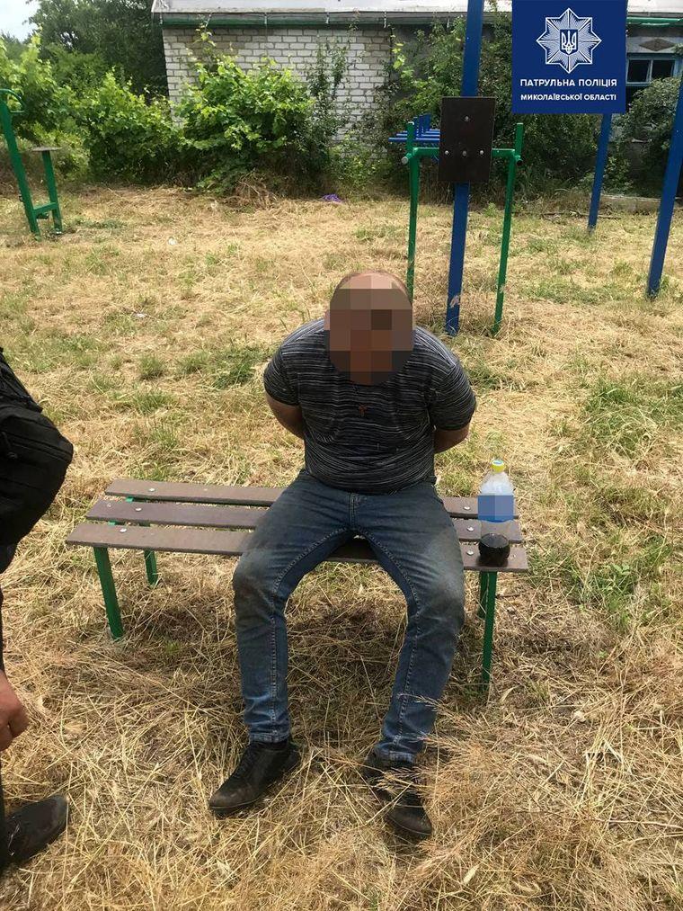 Заядлого «гонщика» поймали в Николаеве. Фото: пресс-служба полиции