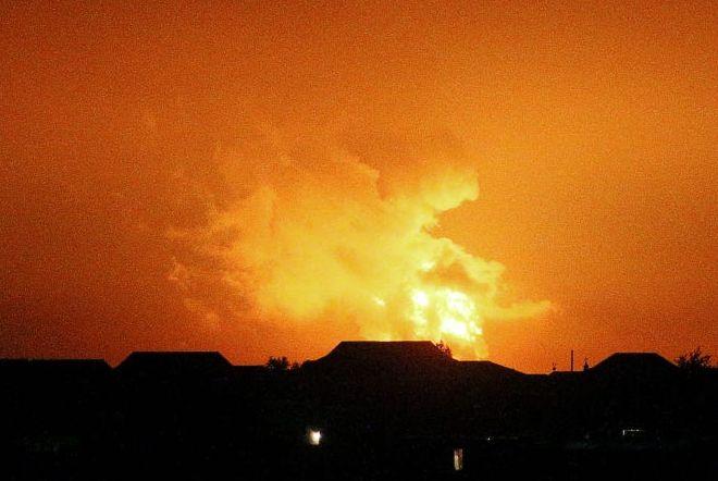 Виверження вулкана. Фото: The Watchers