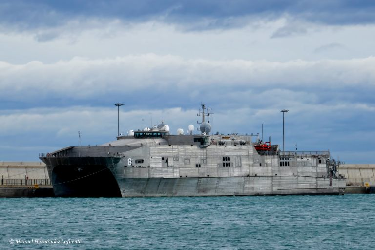 Корабль ВМС США. Фото: Vessel Finder
