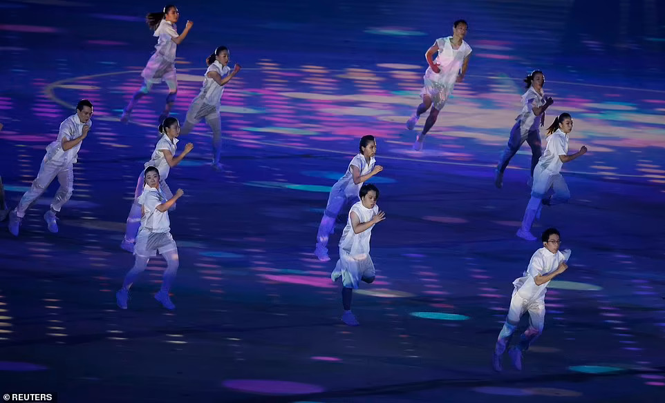 Відкриття Олімпіади 2021. Фото: Reuters