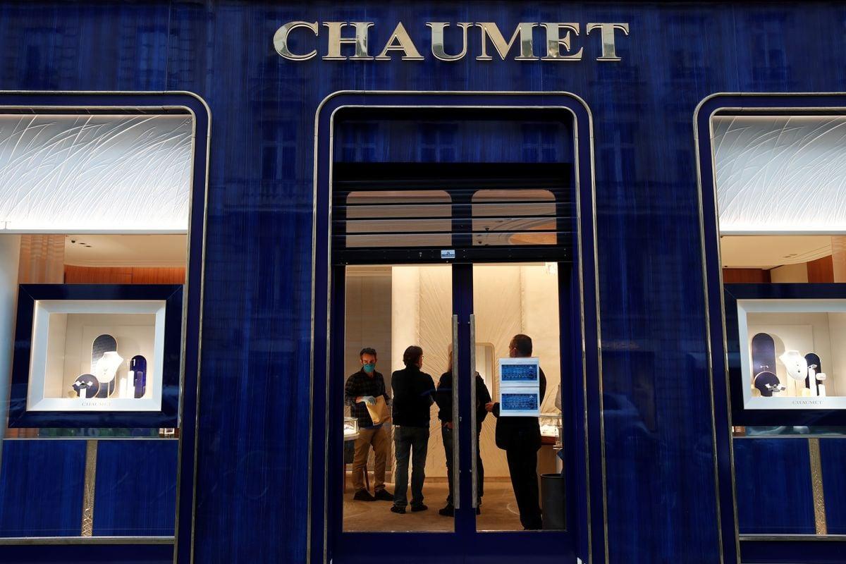 Ограбленный бутик в Париже. Фото: Reuters