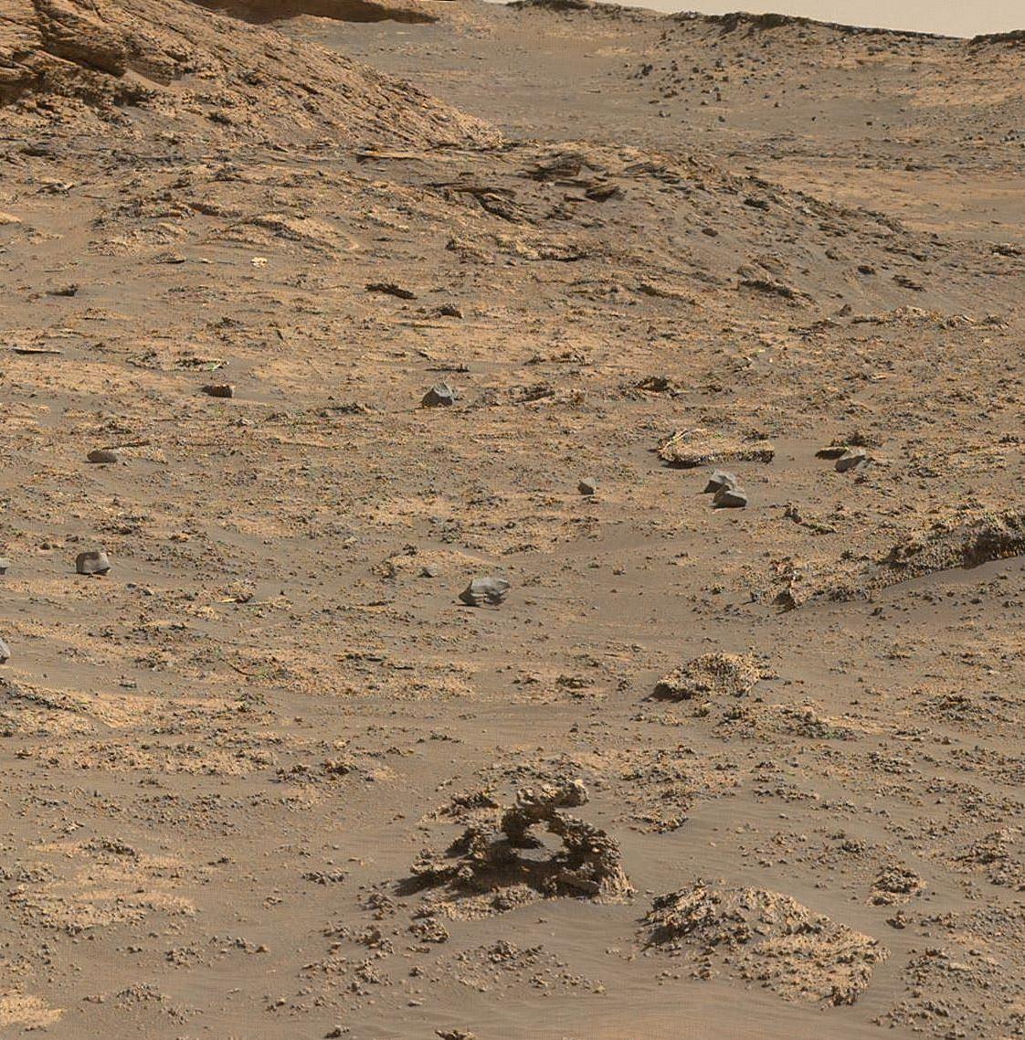 Арка на Марсе. Фото: NASA