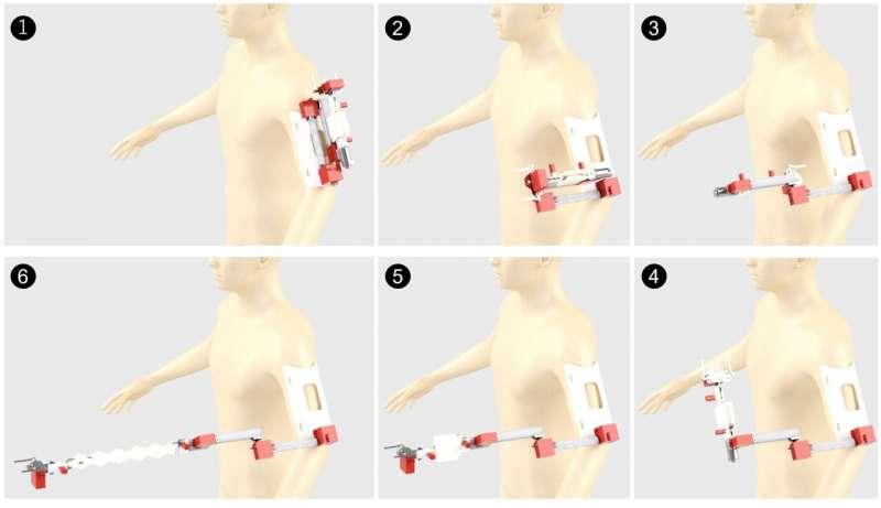 Роботизована рука. Фото: Tech Xplore