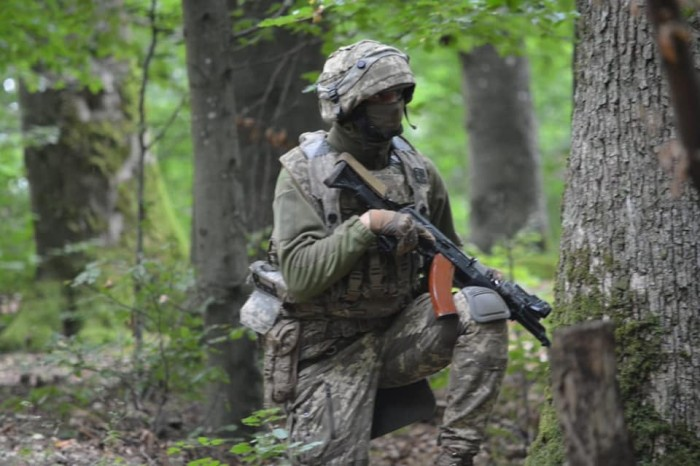 Украинские военные участвуют в учениях Saber Junction – 2021, фото: Генштаб ВСУ