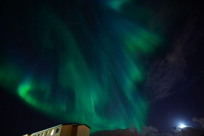 Північне сяйво. Фото: Gismeteo