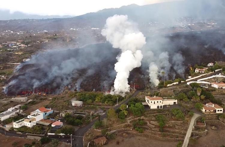 Вулкан на Канарах. Фото: Gismeteo