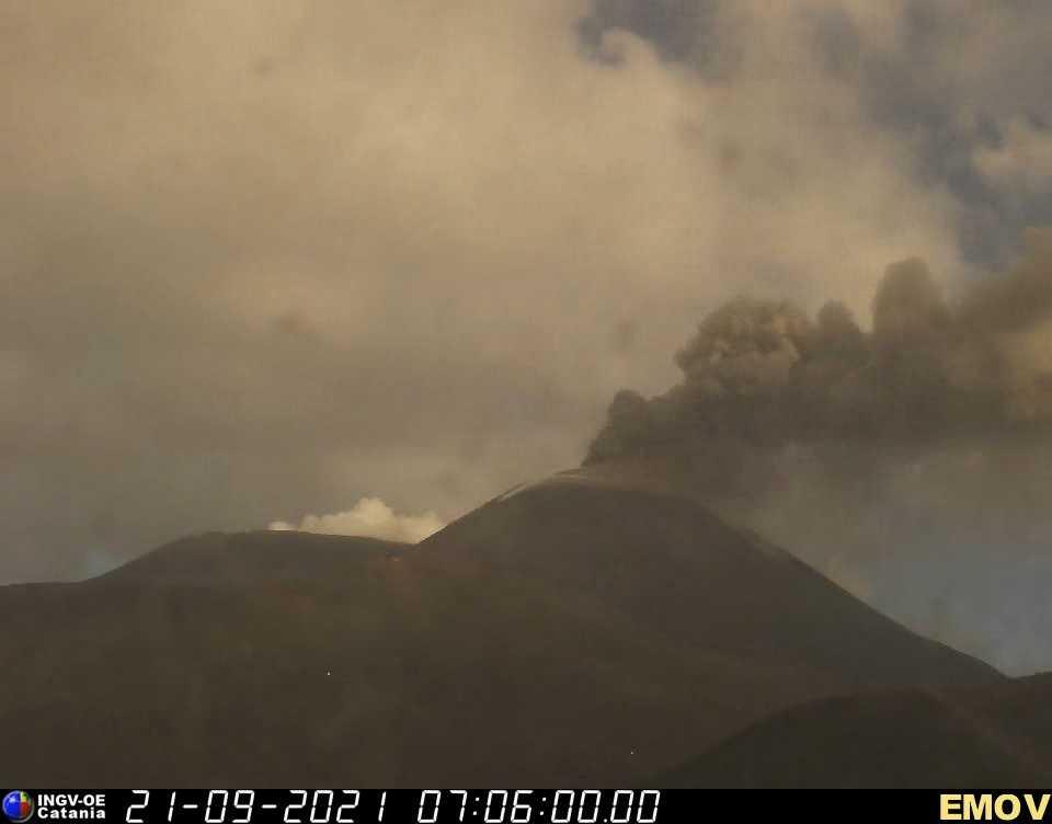 Вулкан Етна. Фото: The Watchers