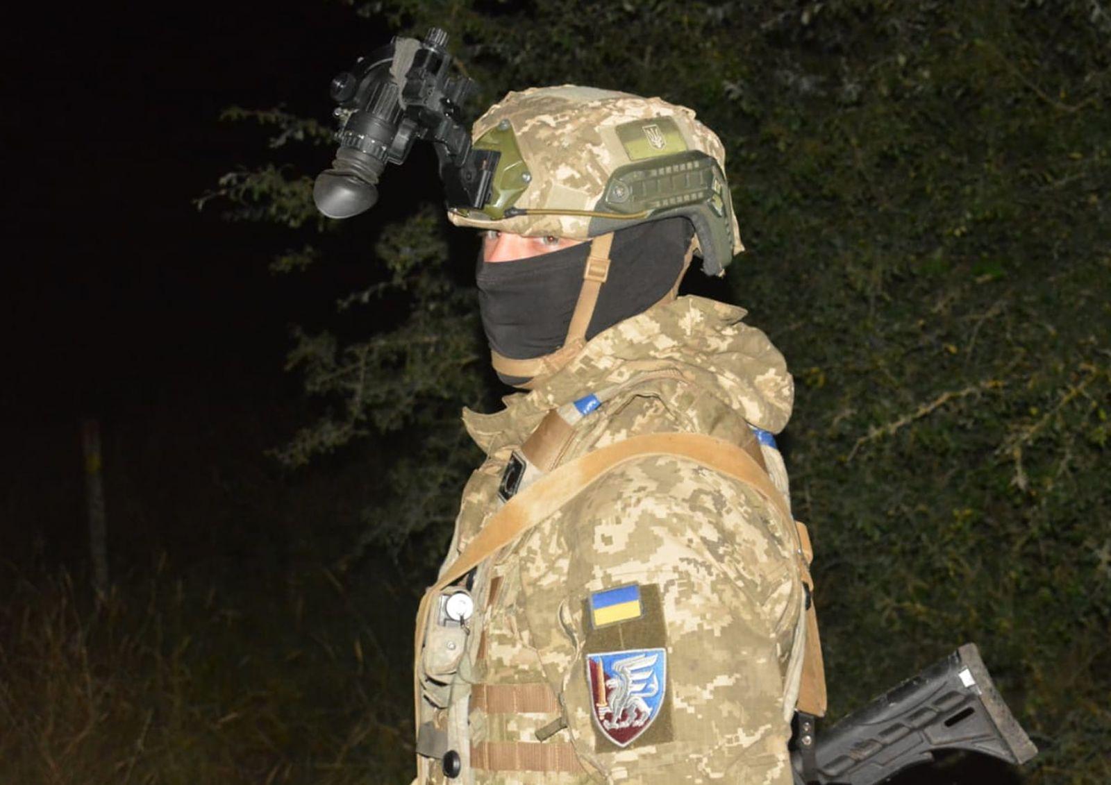 Военные учения. Фото: пресс-служба командования
