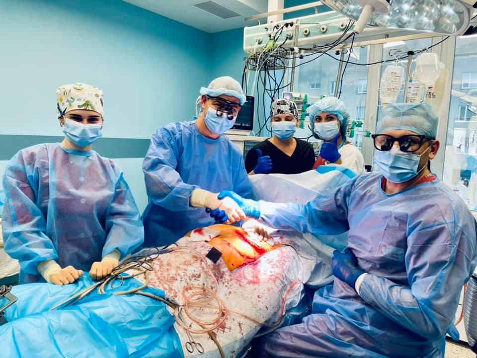Уникальная операция во Львове. Фото: Facebook