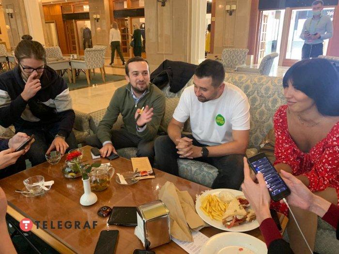 У Трускавці проходить smart-вечеря «Слуг народу». Фото: «Телеграф»