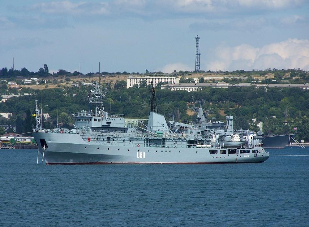 В Черном море терпит бедствие корабль U-811 «Балта», фото: Михаил Забродский