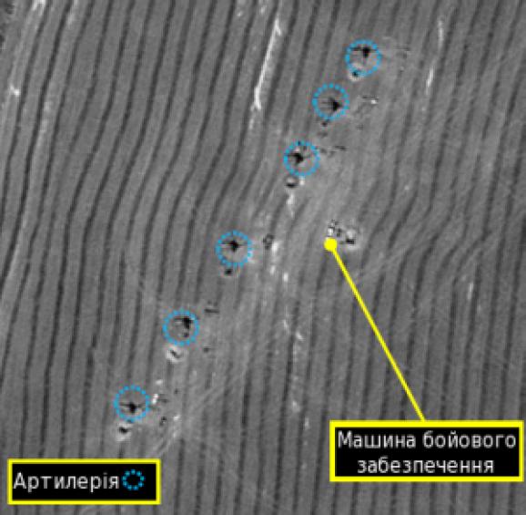 спутниковые снимки донбасса