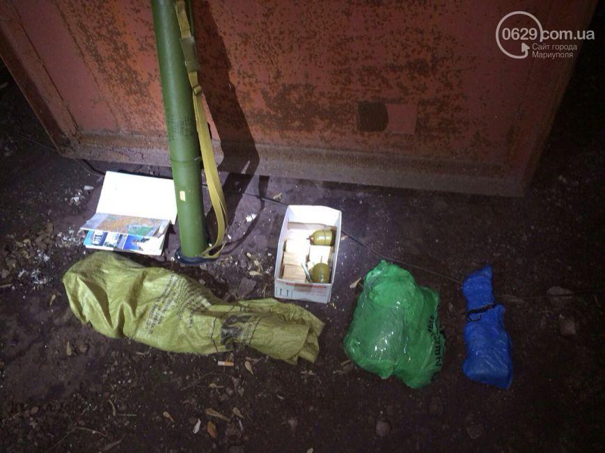 Група бойовиків найближчим часом готувала теракти в місцях масового скупчення людей в Маріуполі. Фото прес-служби СБУ