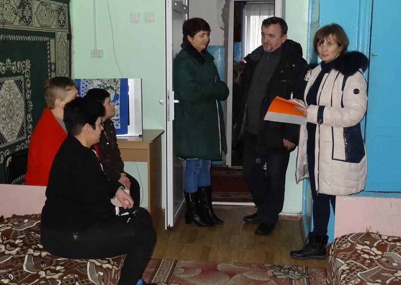 В психоневрологическом интернате для женщин в Луганской области закончились запасы лекарств и продуктов. Фото с сайта омбудсмена