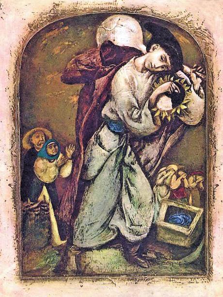 «Котигорошко» з «Українських народних казок», за ілюстрації до яких Микола Стороженко удостоєний Шевченківської премії. Фото: polny-shkaf.livejournal.com
