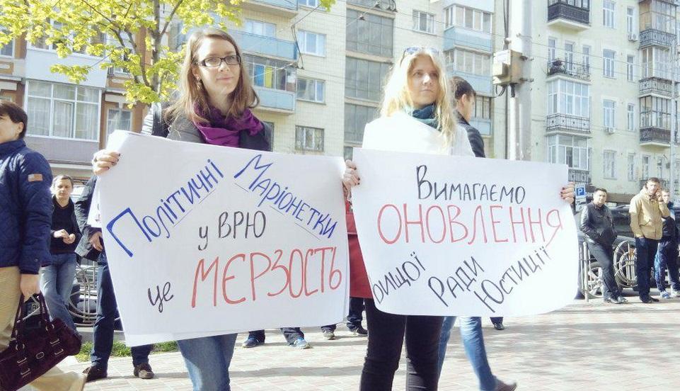 На нынешний съезд адвокатов пришло множество гостей. Фото Twitter / Maksym Filipenko