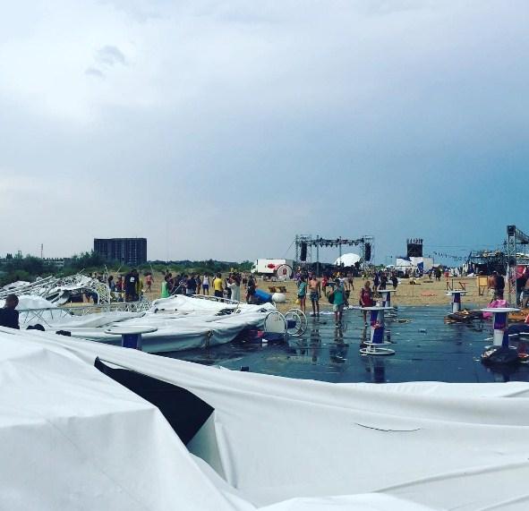 Под Одессой вЗатоке дождь сураганом сорвали фестиваль Z-Games