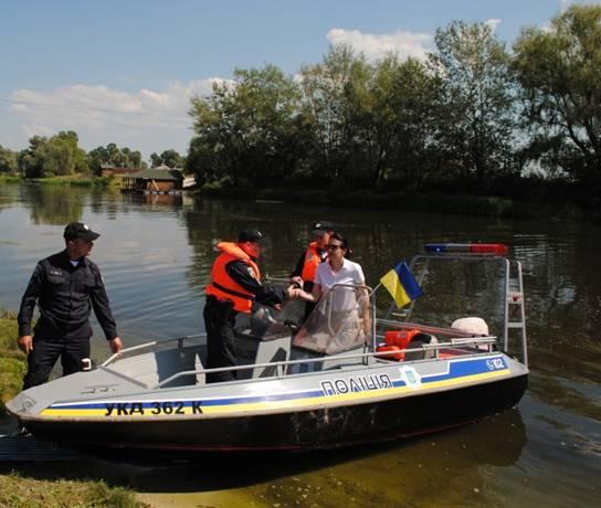 ВКиевской области начала работу водная милиция