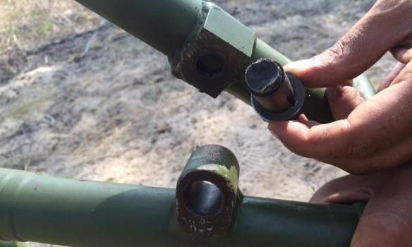 Военные поведали обиспытании украинского миномета «Молот» за480 тыс.