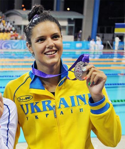 Украинская пловчиха установила рекорд Кубка мира