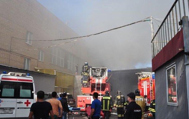 В российской столице опознали всех погибших впожаре наскладе втипографии