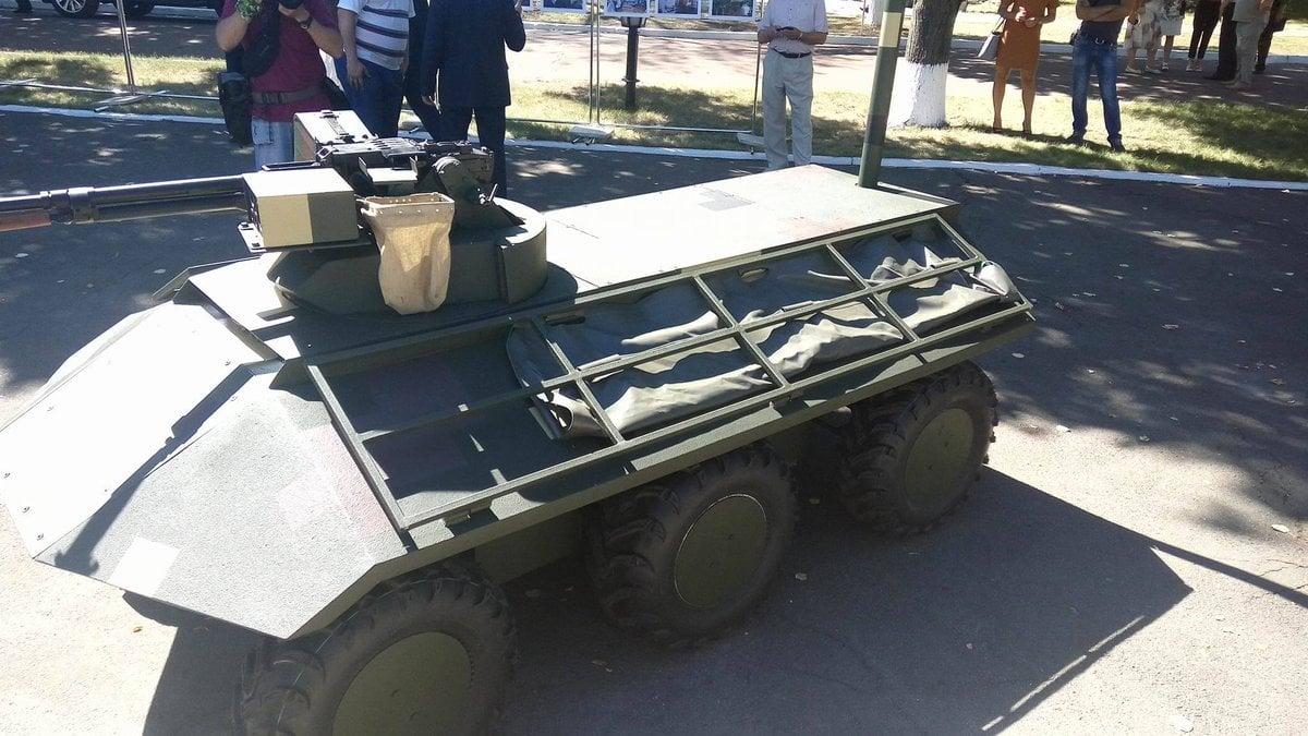 ВУкраинском государстве создали беспилотный БТР Фантом