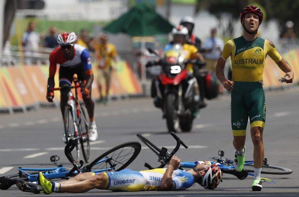НаПаралимпиаде столкнулись велогонщики, украинца дисквалифицировали