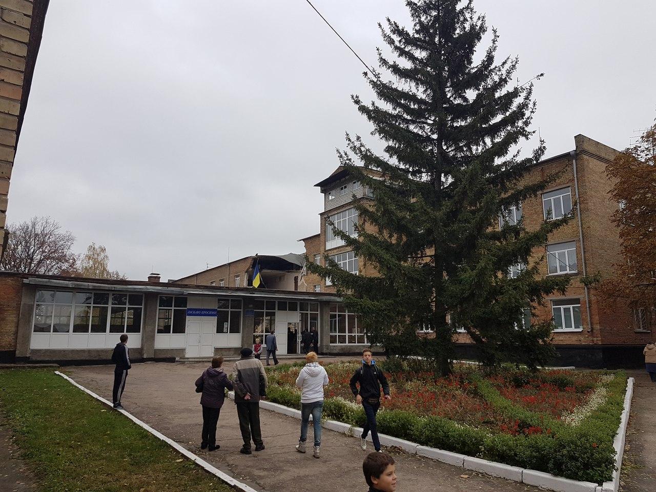 Первые кадры сместа обрушения школы вВасилькове