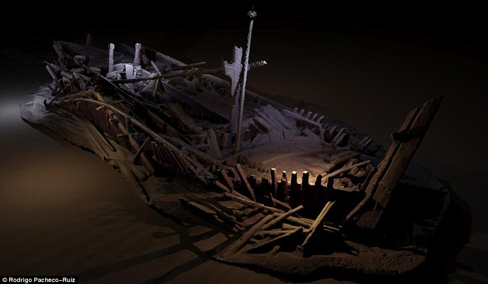 ВЧерном море отыскали кладбище византийских иосманских кораблей