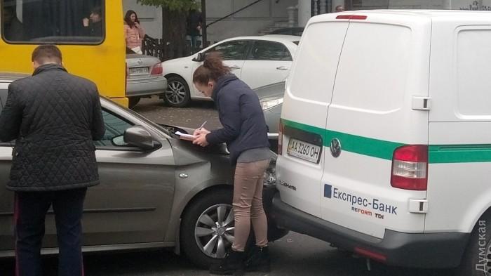 Вцентре Одессы милиция устроила погоню сострельбой: появились фото