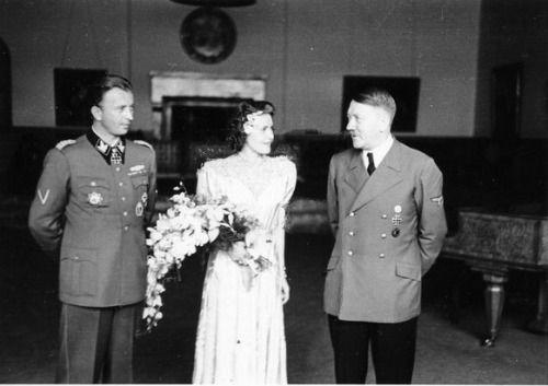 Фото свадьбы гитлера и евы браун