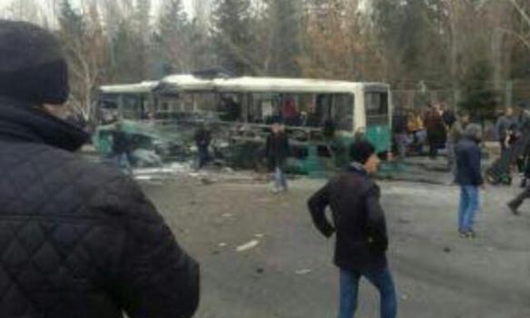 Число погибших  теракта втурецком городе Кайсери достигло 15 человек