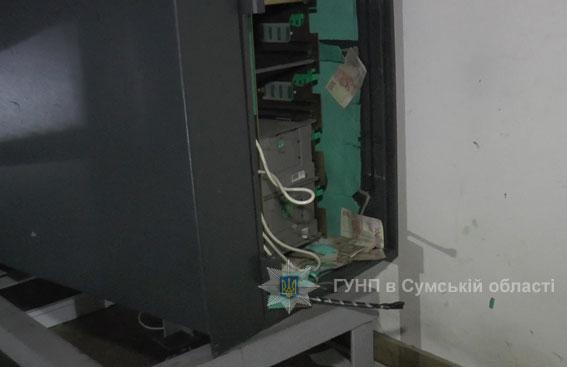 Грабители взорвали банкомат в Сумах, - Нацполиция - Цензор.НЕТ 5506
