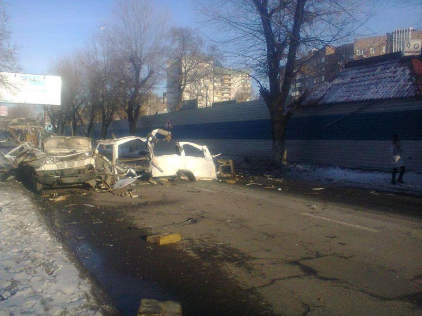 Воккупированном Донецке врайоне ж/д рынка произошел взрыв