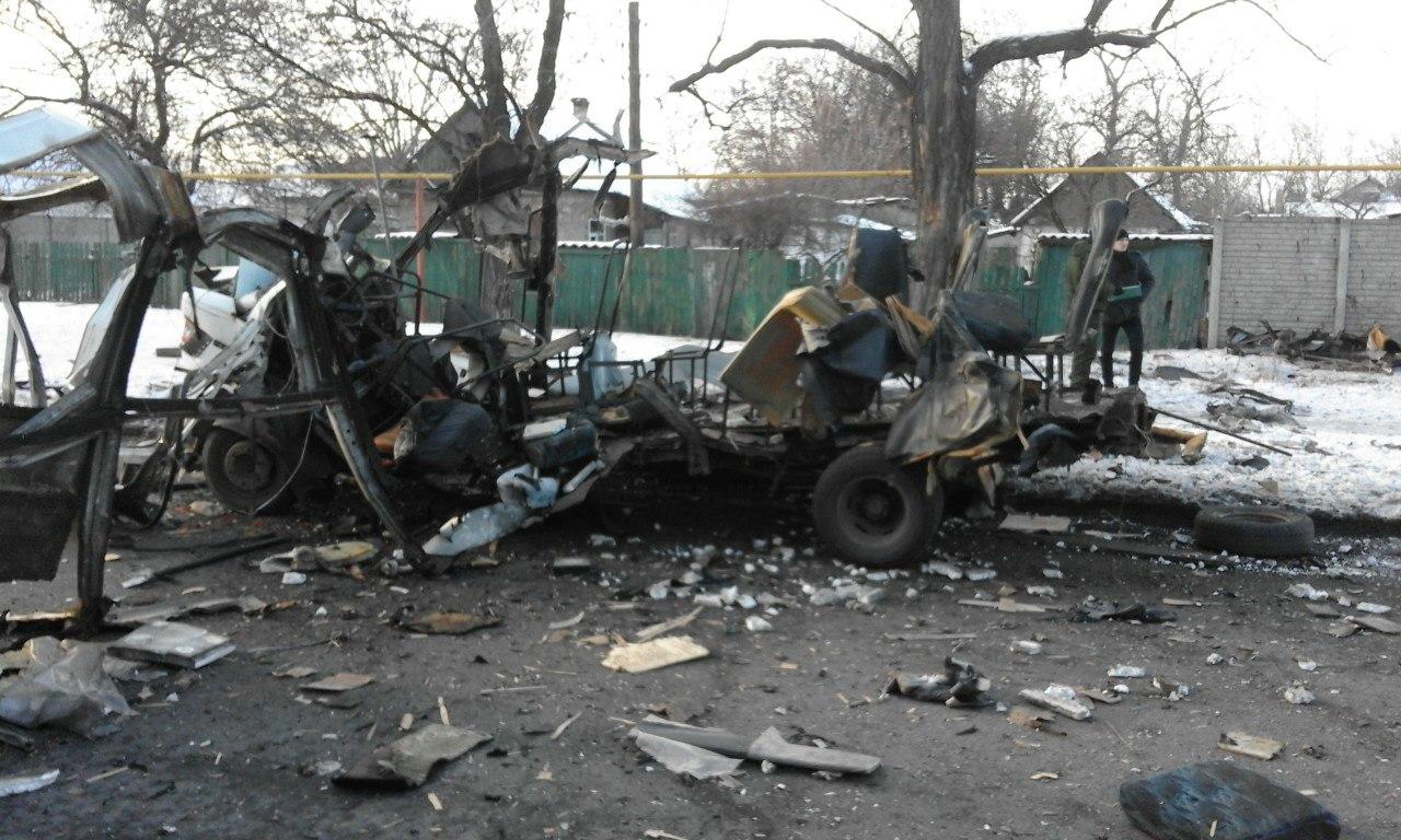 Воккупированном Донецке произошел взрыв
