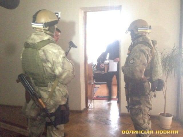 Генеральная прокуратура Украины проводит обыски вВолынском облсовете