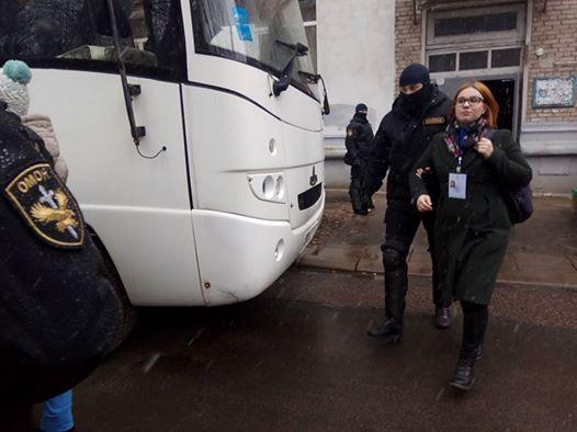 Защитники прав человека центра «Весна» говорили о своем задержании