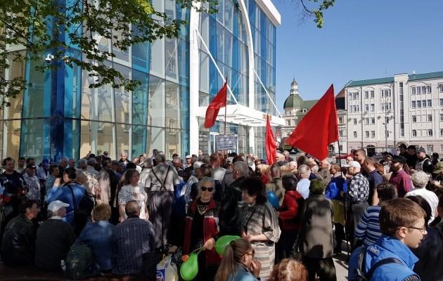 СМИ говорили о конфликтах намассовых акциях вХарькове иВиннице